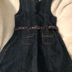 Jean toddler dress